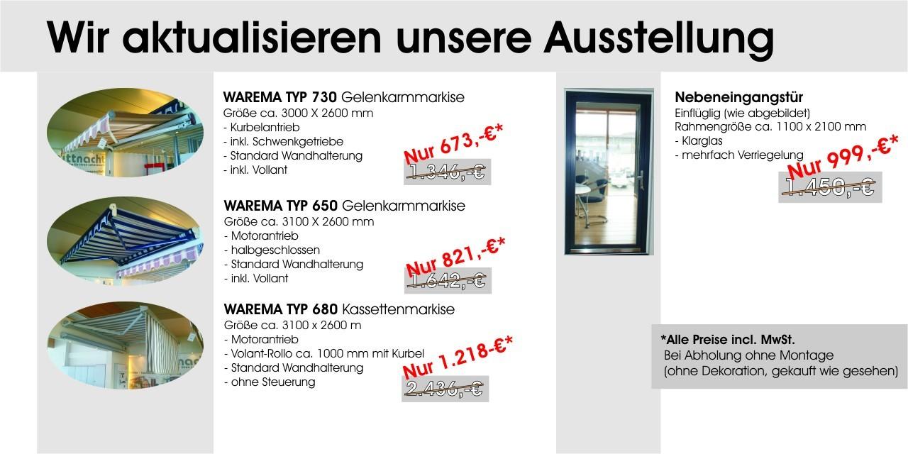 Mittnacht Fenster GmbH - Aktionstage