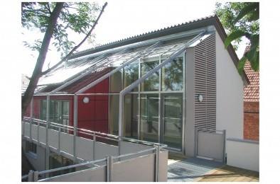 Wintergärten Holz-Aluminium