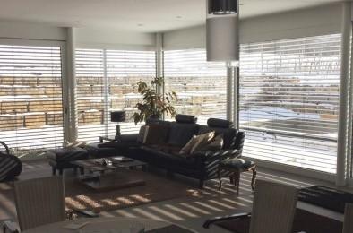 Holz-Aluminium Fenster und Schiebetüren